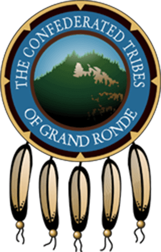 Image of the Confederated Tribes of Grand Ronde logo