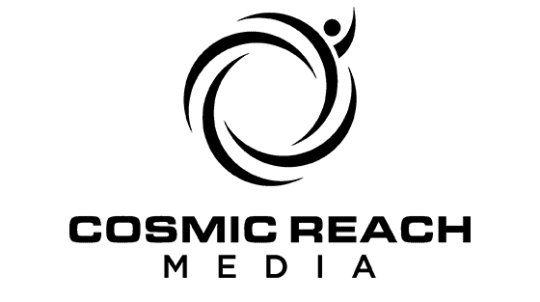 Image of washington based cosmic reach media logo
