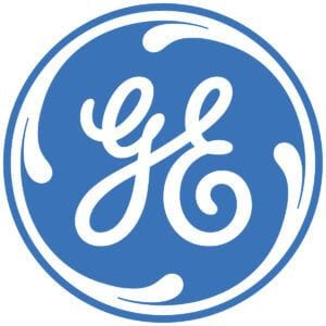 General Electric logo on client review page