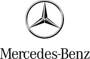 Logo of mercedes benz