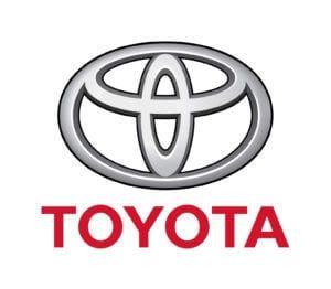 Logo of car manufacturer Toyota